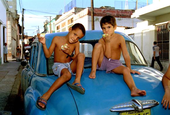 Cuba met kinderen 1