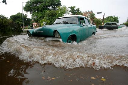 Orkaanseizoen Cuba